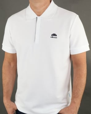Ellesse San Vito Polo Shirt White