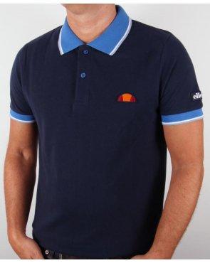 Ellesse Saturno Polo Shirt Navy