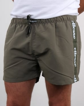 Ellesse Scorfano Swim Shorts Dusty Olive