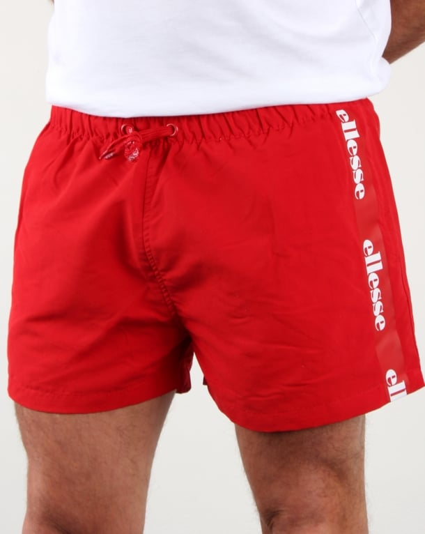 Ellesse Scorfano Swim Shorts Red