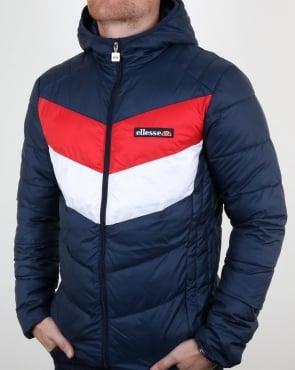 Ellesse Ski Puffer Jacket Navy