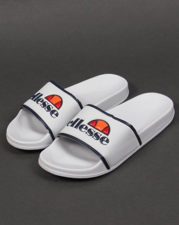 Ellesse Slides White/Navy