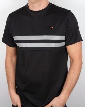 Ellesse Solar T Shirt Black