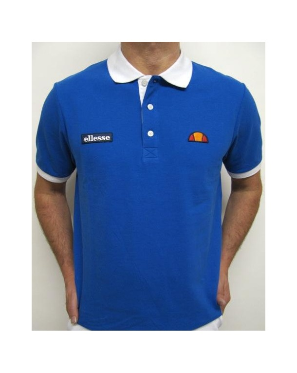 Ellesse Sorrento Polo Shirt Royal Blue