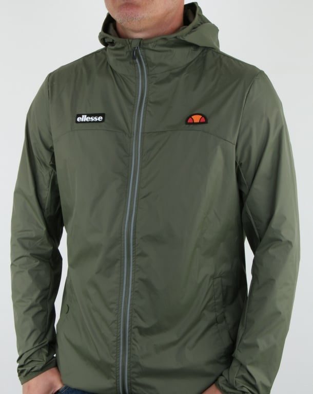 Ellesse Sortoni Jacket Olive Night
