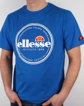 Ellesse Spello T-shirt Royal Blue