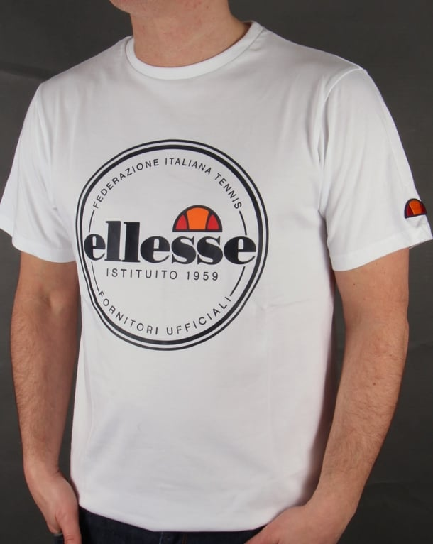 Ellesse Spello T-shirt White