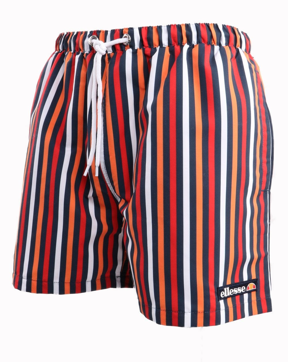 5b137dd6cc42d Ellesse Multi Stripe Swim Shorts | 80s Casual Classics