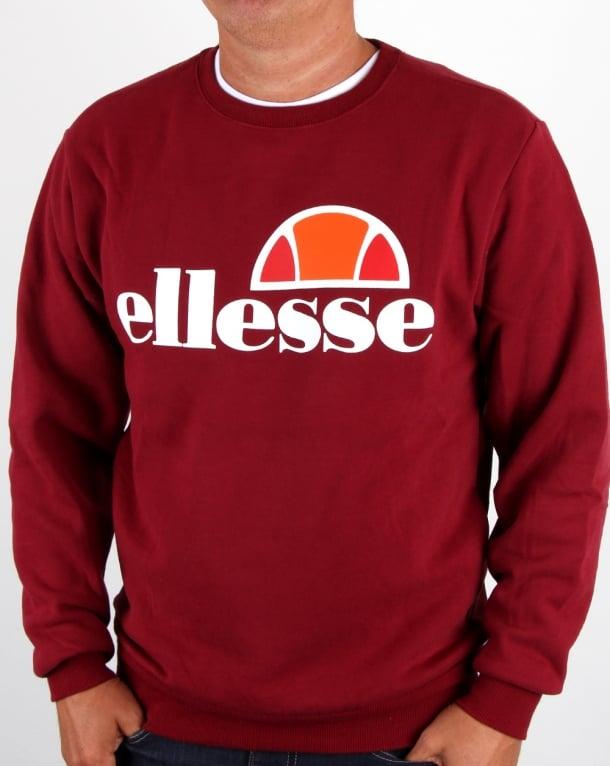 Ellesse Succiso Sweatshirt Tibetan Red