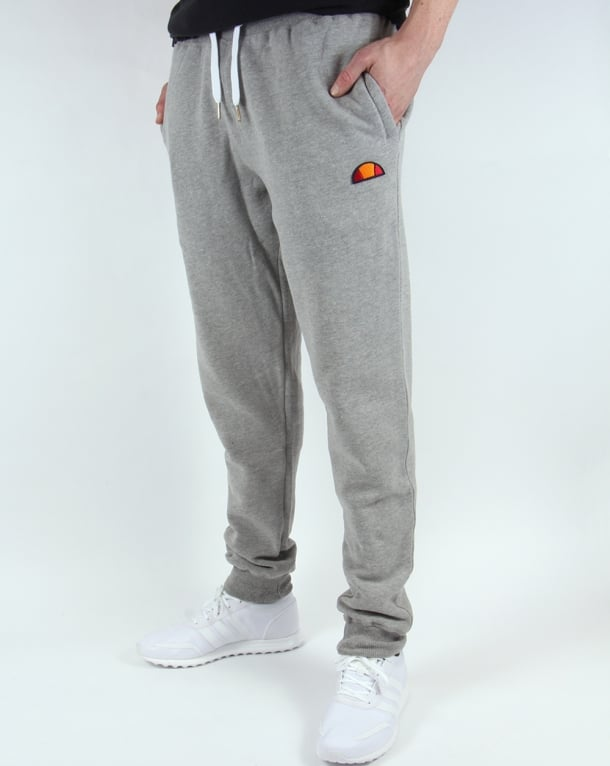 Ellesse Sweat Track Bottoms Grey Marl