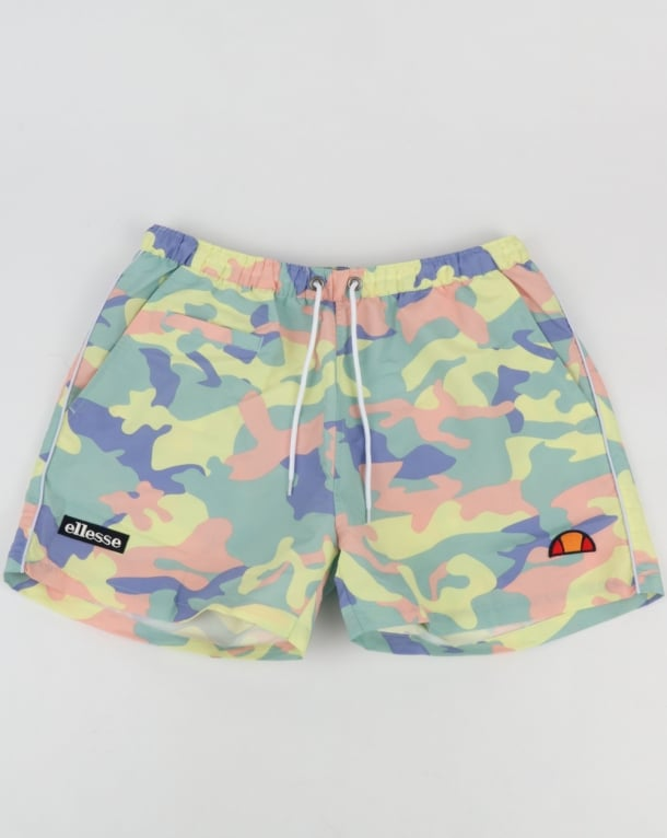 Ellesse Swim Shorts Fresh Multi Camo