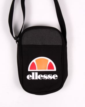 Ellesse Temporale Small Items Bag Black/black Marl