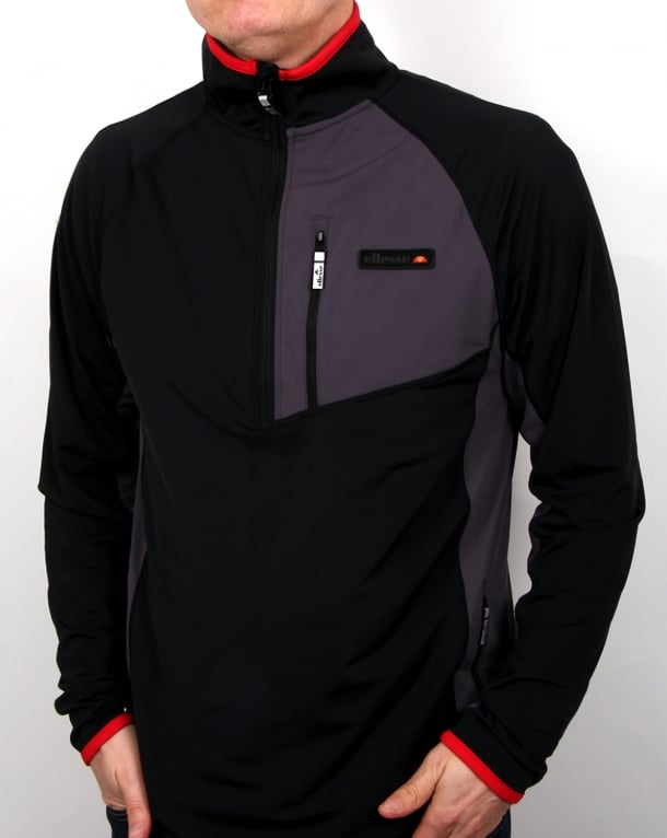 Ellesse Togano Outdoor Performance Top Black