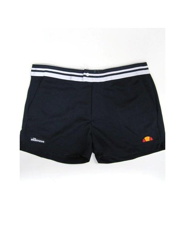Ellesse Trabert Shorts Navy White - Retro Classic Shorts 9670bfe103