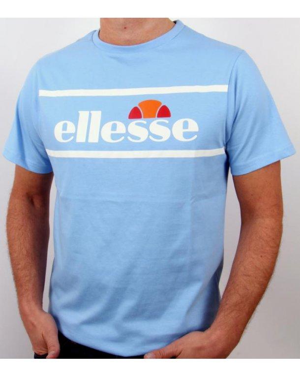 Ellesse Tramline Logo T-shirt Sky Blue