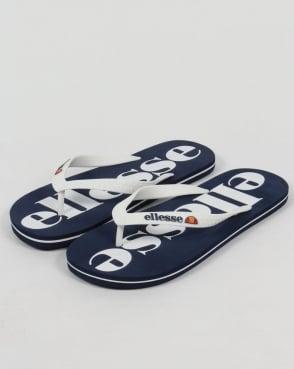 Ellesse Trevi Flip Flops Navy/White