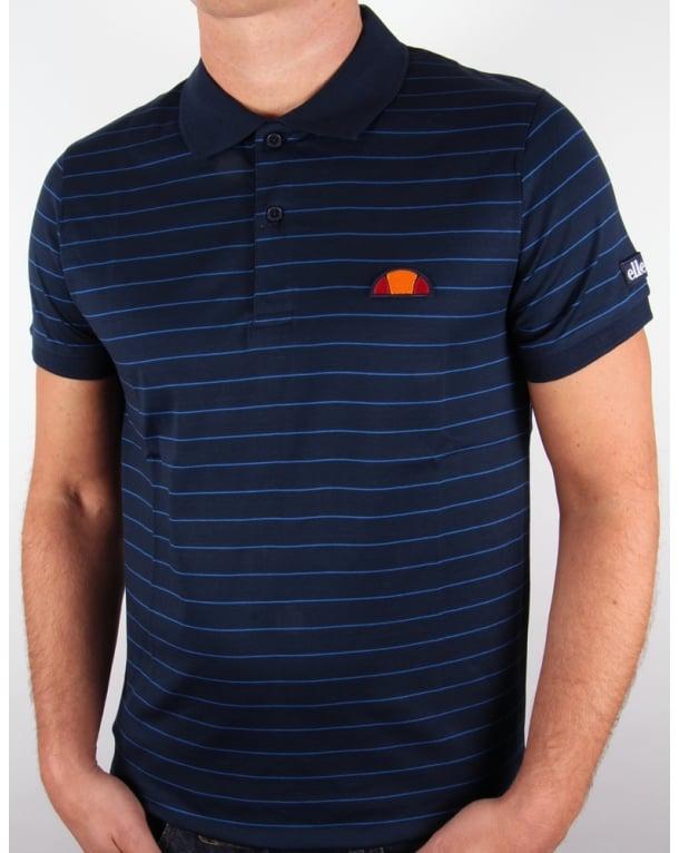Ellesse Triesti Polo Shirt Navy