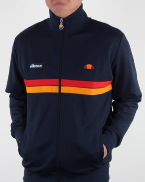 Ellesse Twin Stripe Track Top Navy