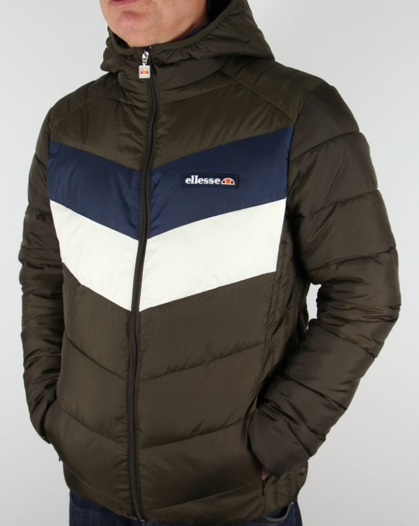 Ellesse Twin V Padded Jacket Green