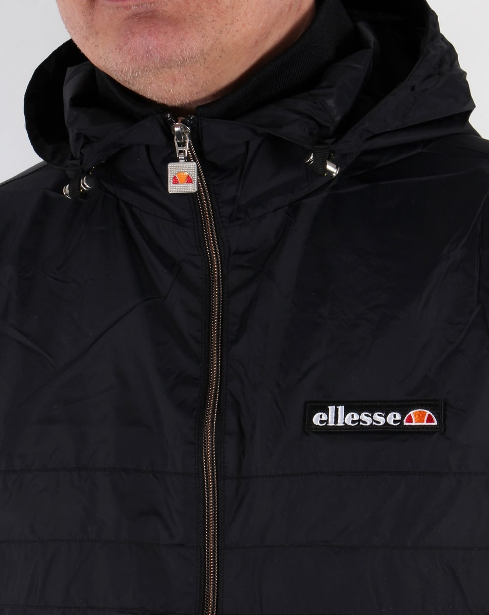 8e68d412 Ellesse Valva Lightweight Jacket Black