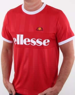 Ellesse Vasto T Shirt Red