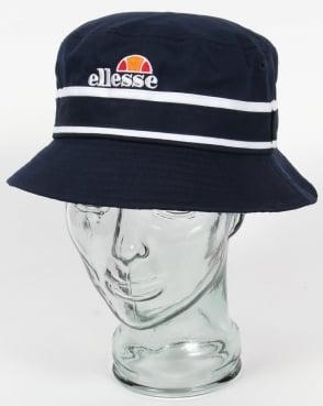 Ellesse Veneto Bucket Hat Navy/White