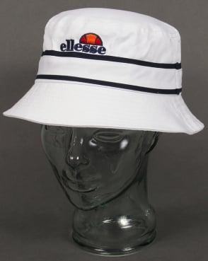 Ellesse Veneto Bucket Hat White/Navy
