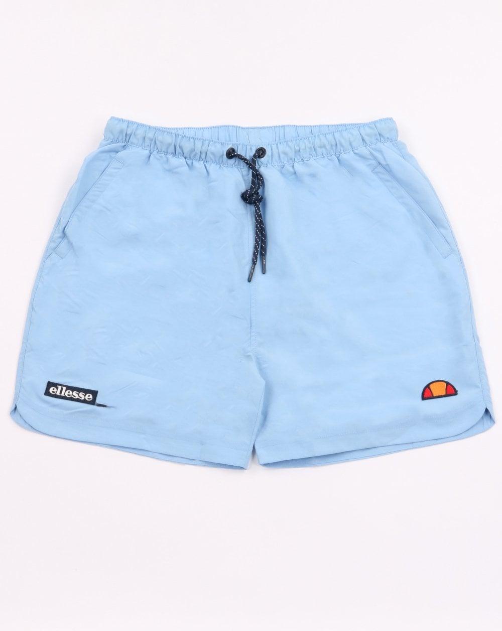 fca78571dd Ellesse Verdo Swim Shorts Sky Blue | 80s Casual Classics