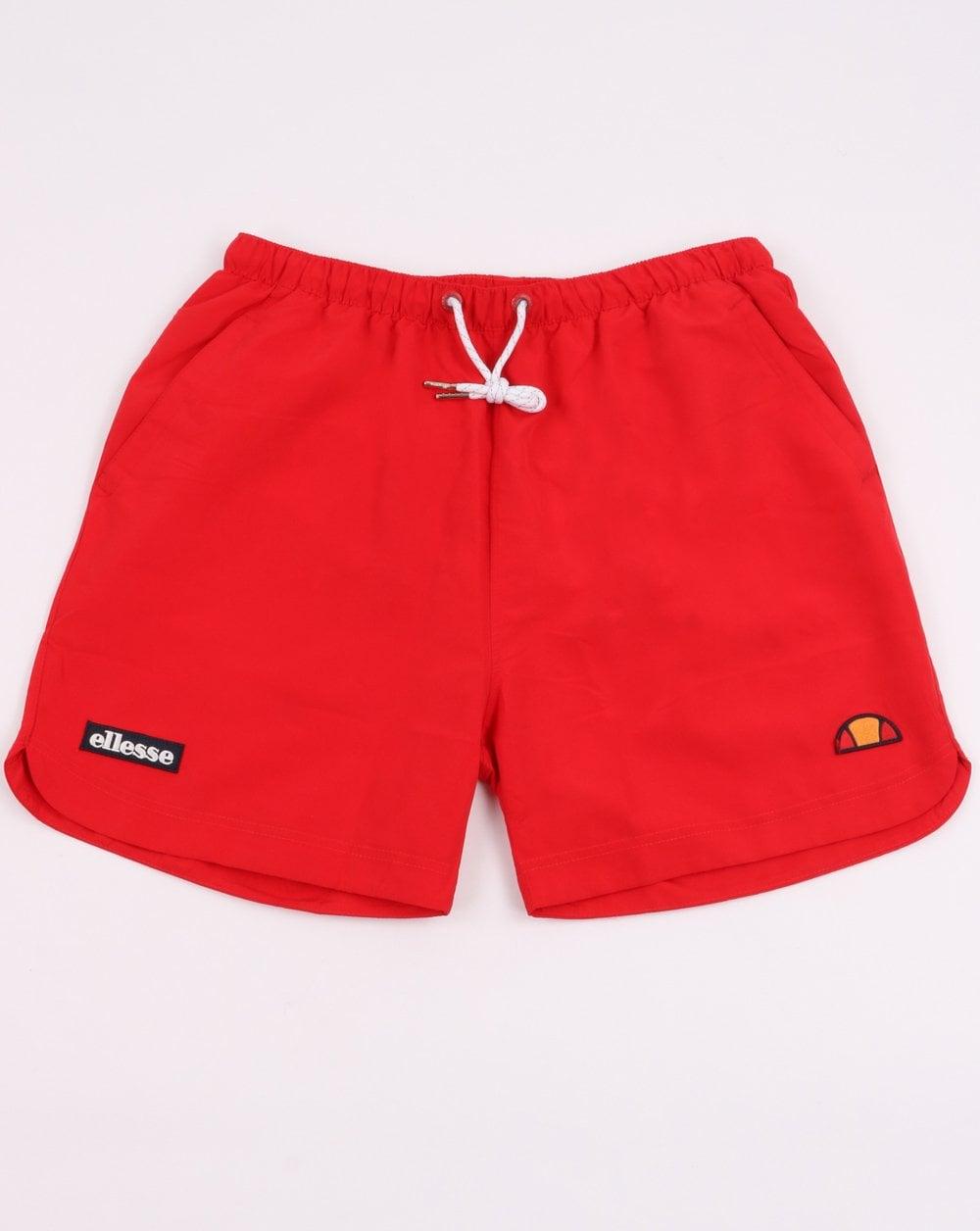 9723a9cbb5 Ellesse Verdo Swim Shorts in Red | 80s Casual Classics