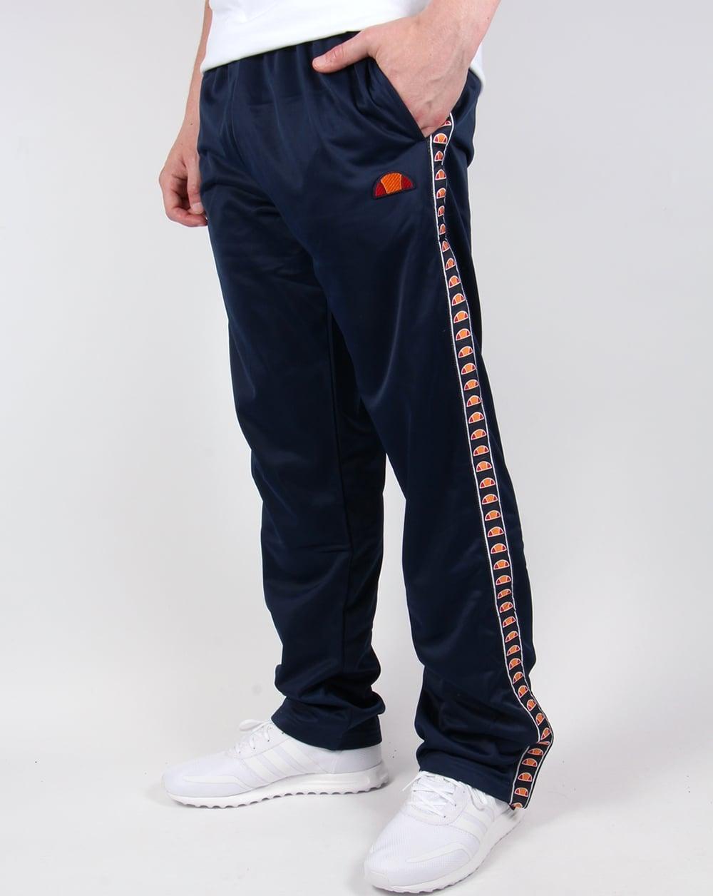 Ellesse Vigoleno Track Bottoms Navy,tracksuit,pants,mens