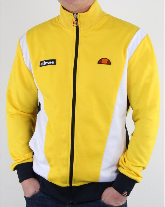 Ellesse Vilas Track Top Yellow