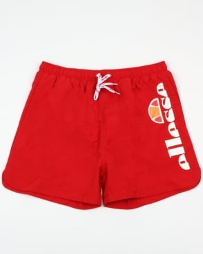 Ellesse Vito Swim Shorts True Red