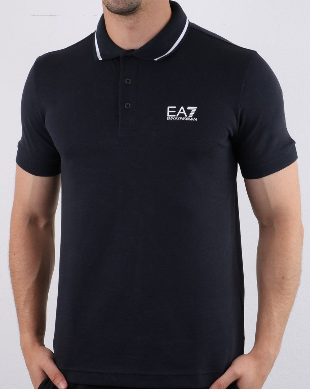 6961df95d5 Emporio Armani EA7 Polo Shirt Night Blue