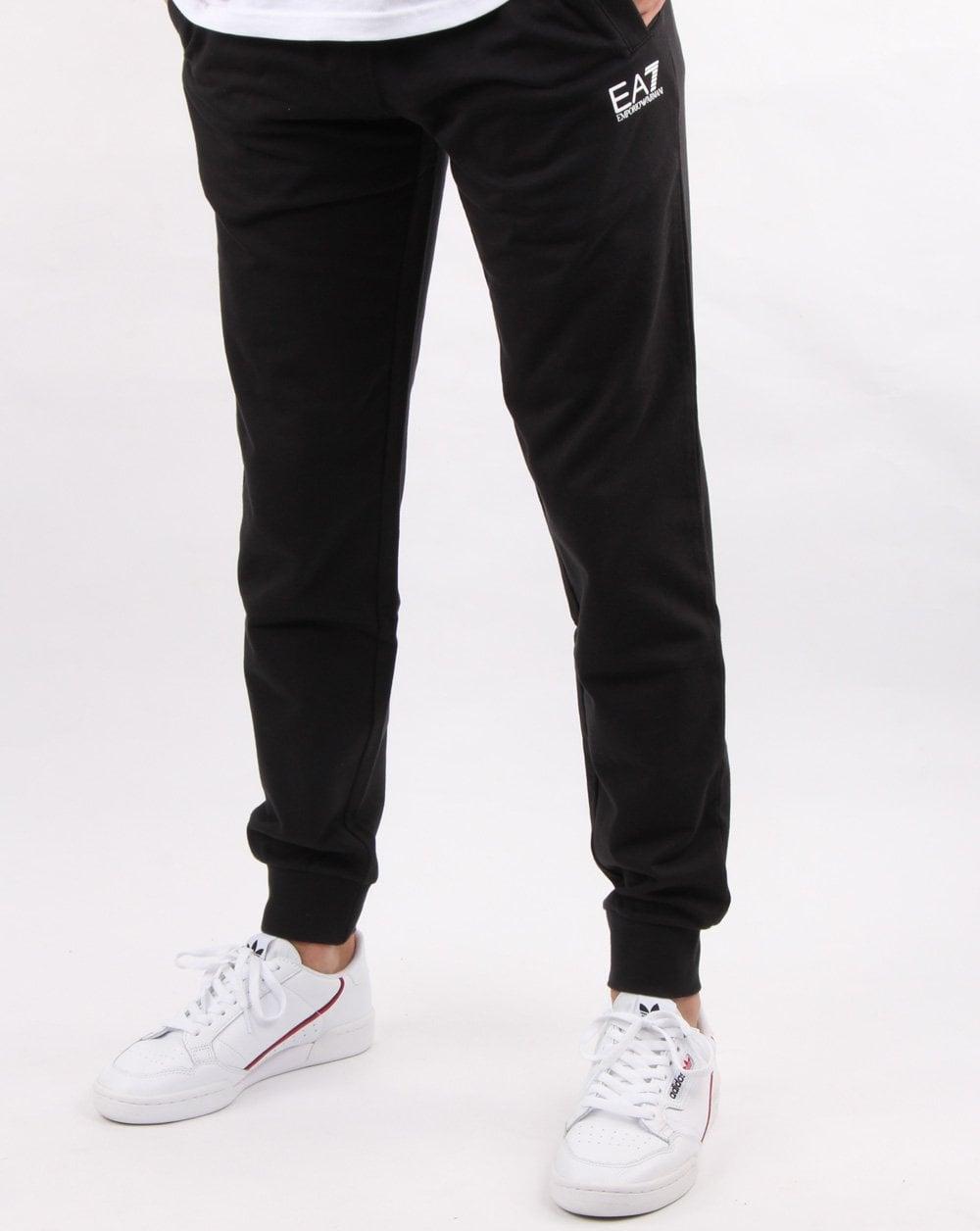 Luxusmode billigsten Verkauf unglaubliche Preise Emporio Armani EA7 Track Pants Black