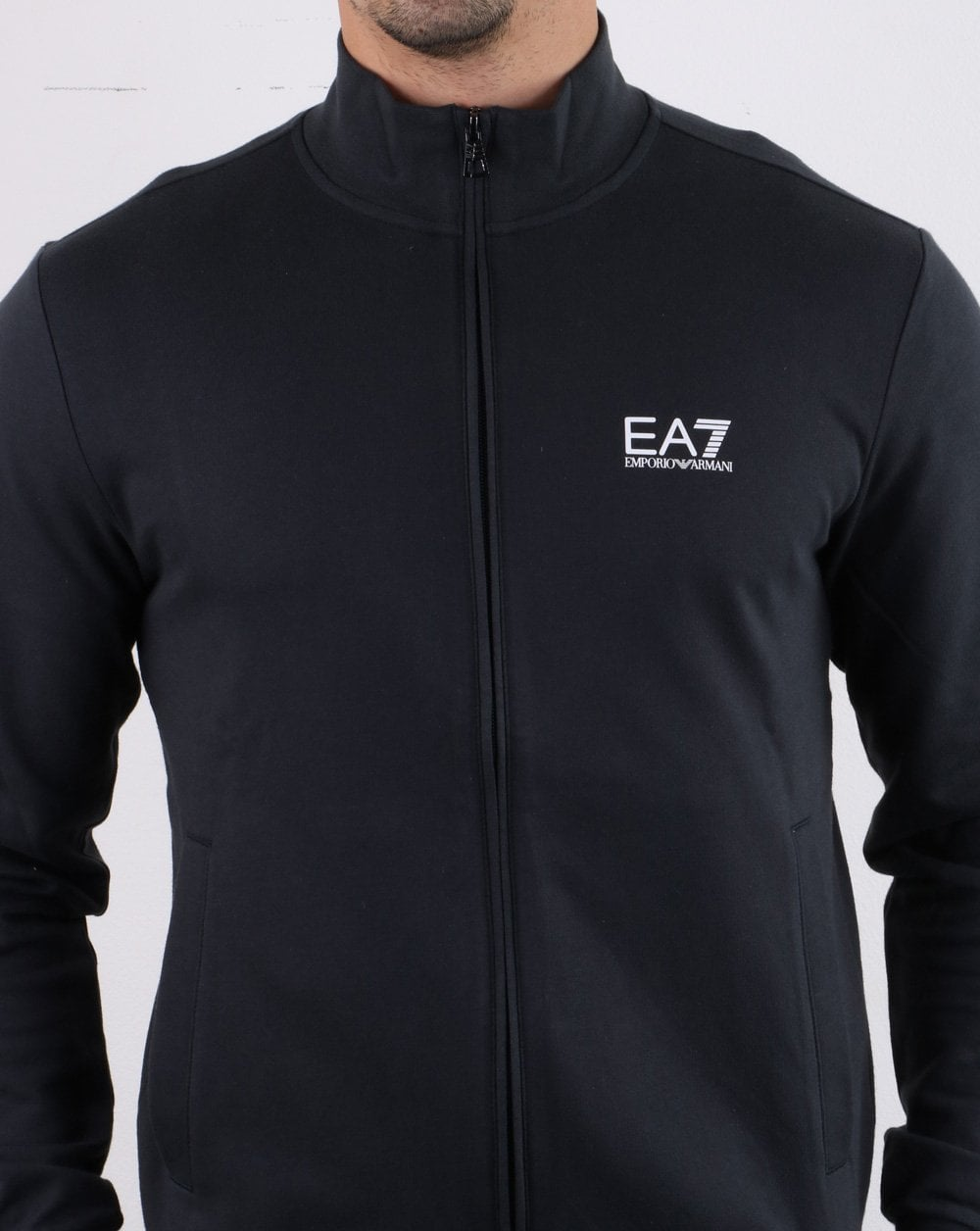 discount up to 60% world-wide selection of attractivefashion Emporio Armani EA7 Track Top DK Navy