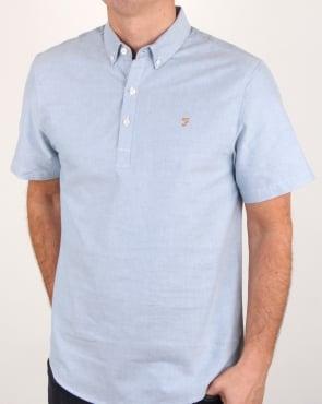 Farah Brewer Shirt Sapphire