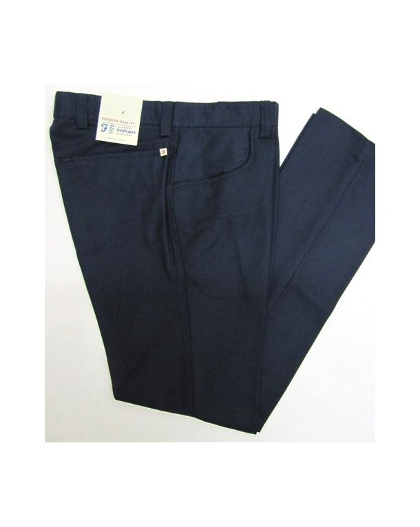 Farah Casual Mills Trousers Navy