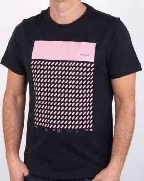 Farah Chestering T Shirt Deep Black