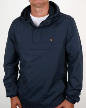 Farah Clydesdale Overhead Jacket Navy