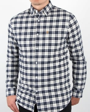 Farah Coleville Shirt True Navy