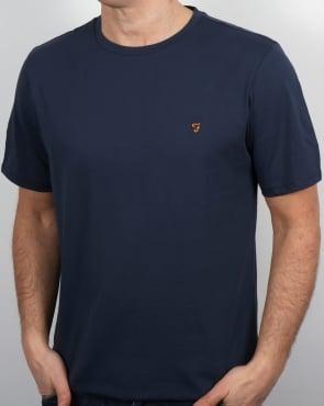 Farah Denny T-shirt Navy