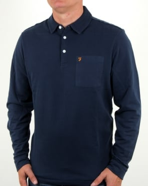 Farah Exmoor Pocket Polo Yale