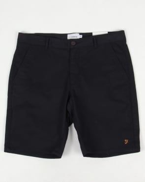 Farah Hawk Chino Twill Shorts True Navy