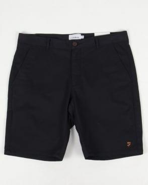Farah Hawk Chino Twill Shorts True Navy