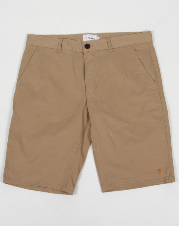 Farah Hawking Chino Shorts Light Sand