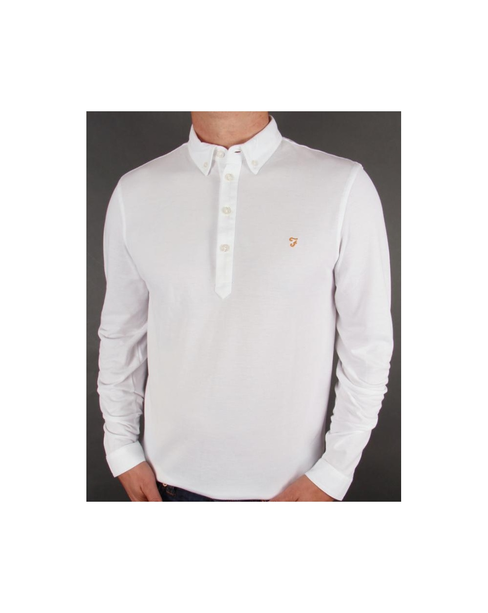 d1ebcb58 Farah Vintage Knitted Polo Shirt – EDGE Engineering and Consulting ...