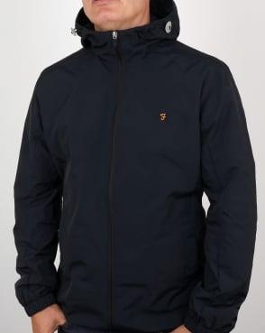 Farah Newbern Hooded Jacket Black