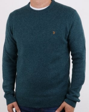 Farah Rosecroft Jumper Dark Teal