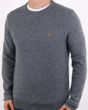 Farah Rosecroft Jumper Grey