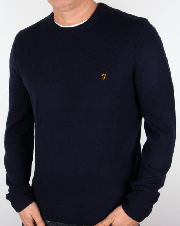 Farah Farah Rosecroft Jumper True Navy